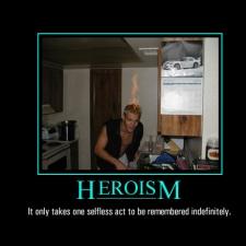 heroism