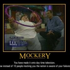 mockery